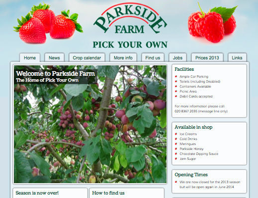 Parkside Farm Pick Your Own